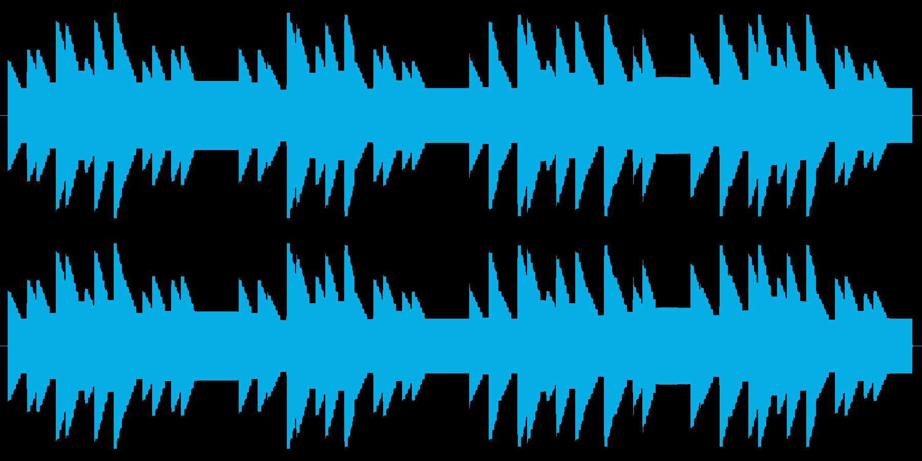 横断歩道 誘導音02-2の再生済みの波形