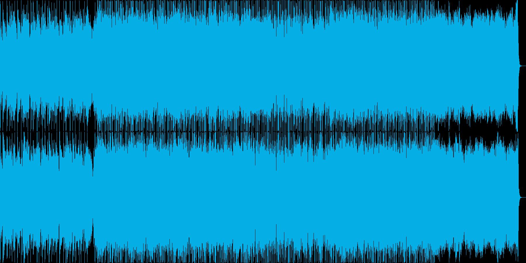 懐かしく温まるアコースティック主調の楽曲の再生済みの波形