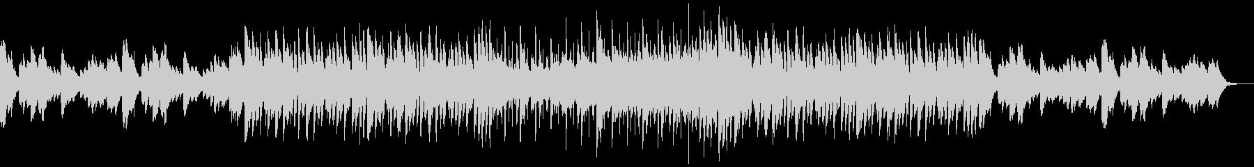 メロディアスなBGM向けハウスの未再生の波形