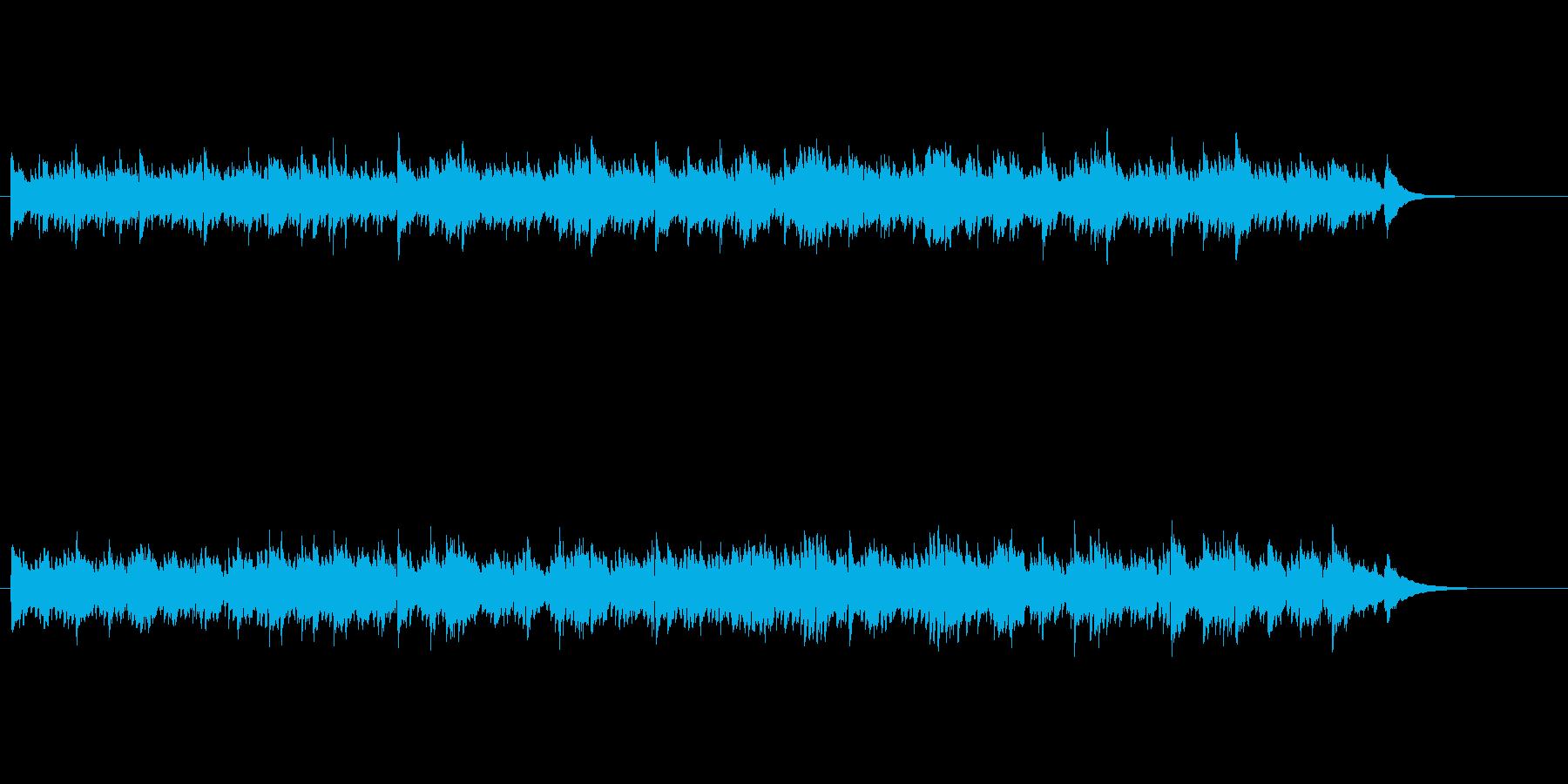 フォーク調哀愁のアコースティックナンバーの再生済みの波形