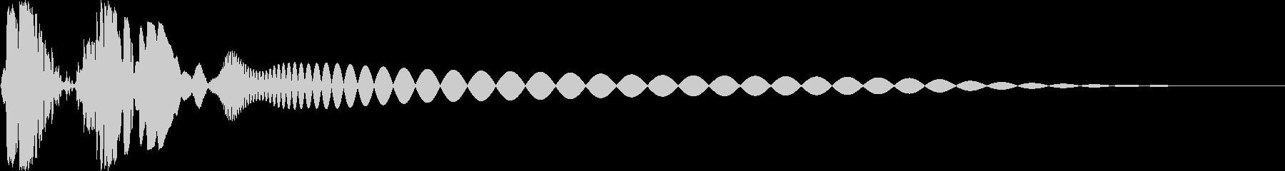 プチュン(モニタoff ロボの目が光る)の未再生の波形