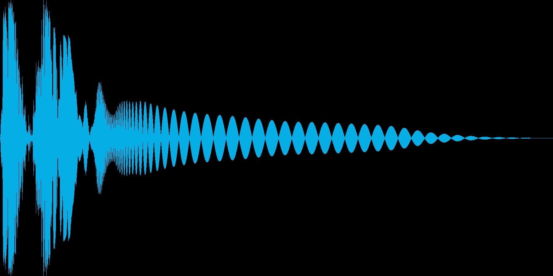 プチュン(モニタoff ロボの目が光る)の再生済みの波形