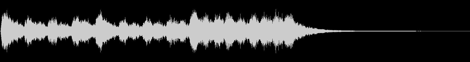 キラキラシンセ ジングルの未再生の波形