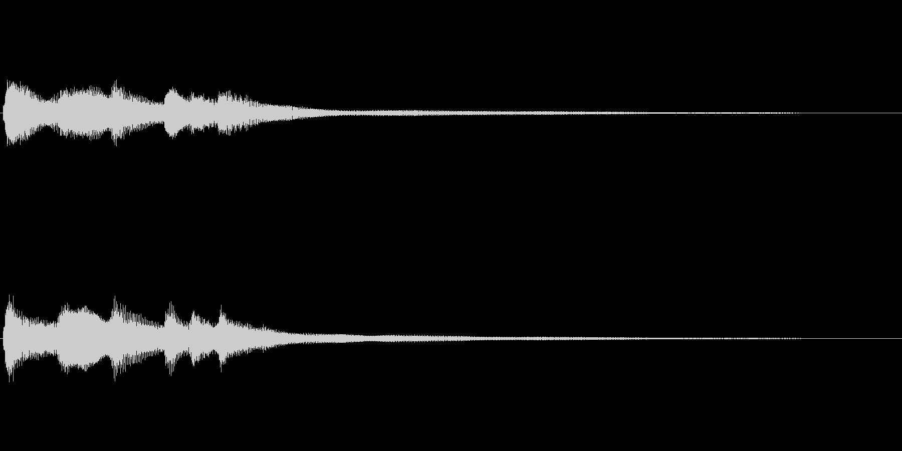 転換の時に使う短いBGM ファンタジー系の未再生の波形