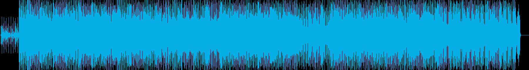 軽快でおしゃれなヒップホップの再生済みの波形