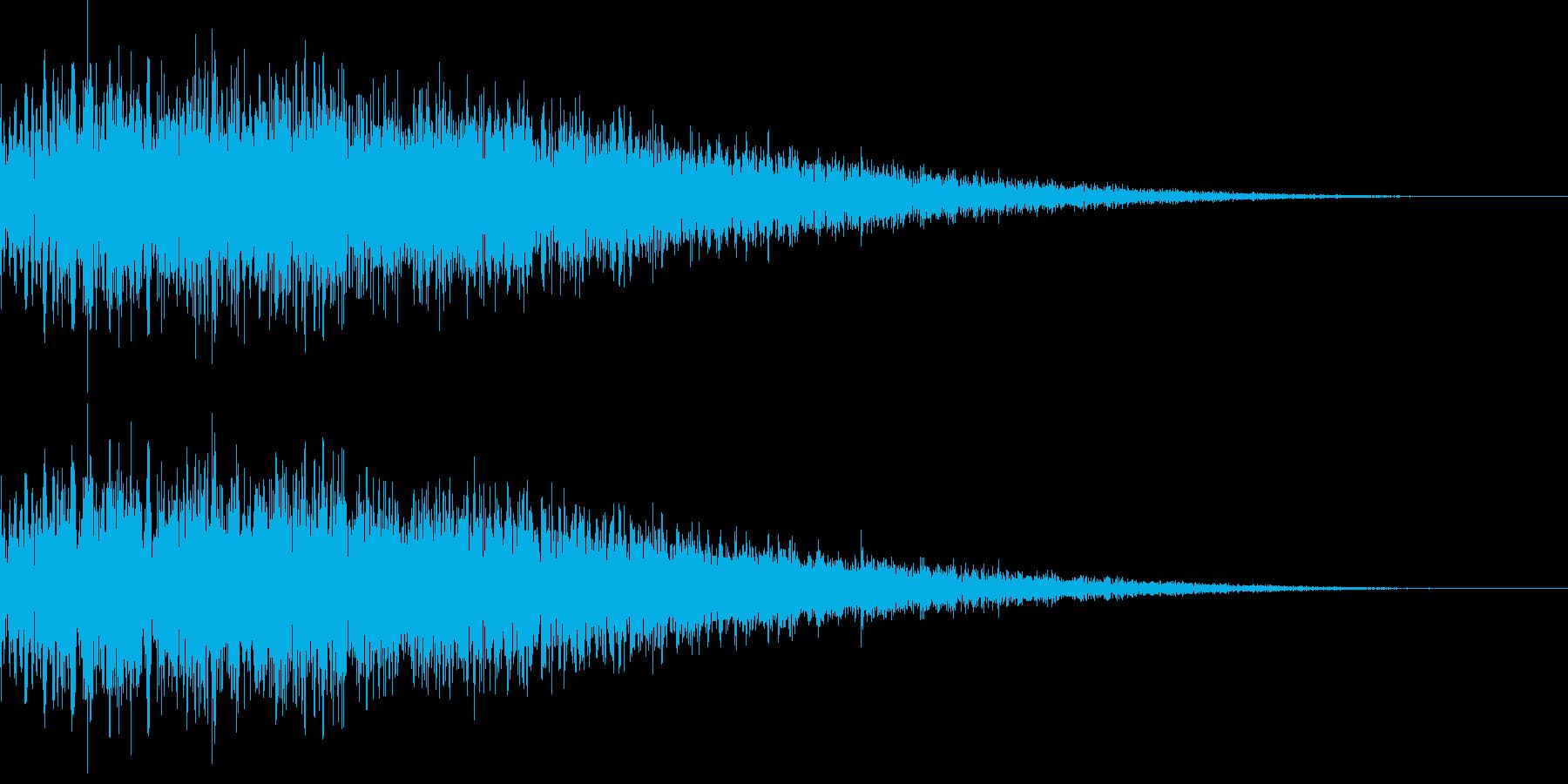 [ドワーン]/中国/ドラ/銅鑼/少林寺の再生済みの波形