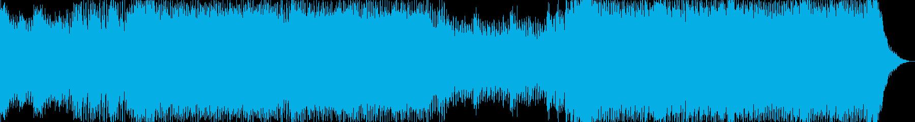 爽やかハイスピード系の曲<short仕…の再生済みの波形