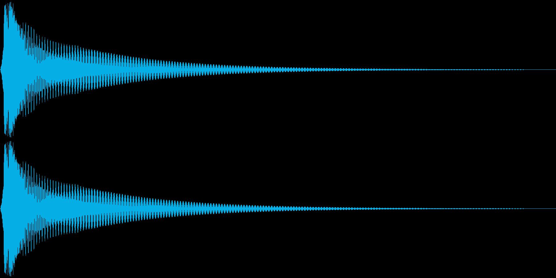 Cap フタ・栓を開ける音 1の再生済みの波形