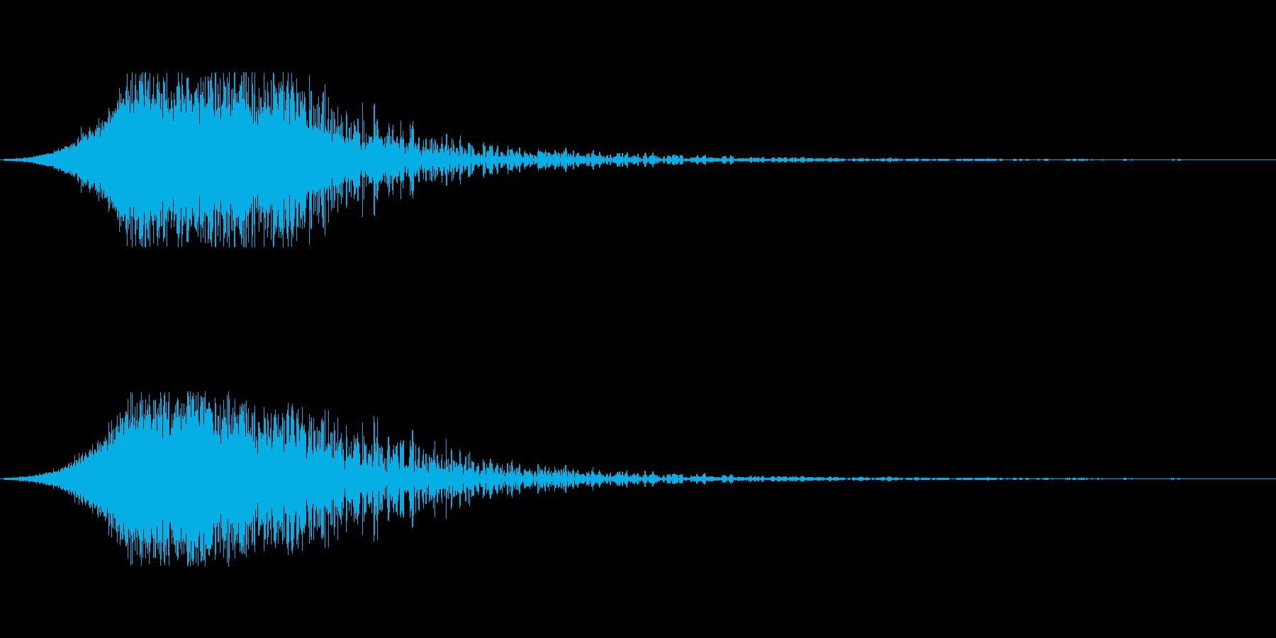 SF系衝撃波の再生済みの波形
