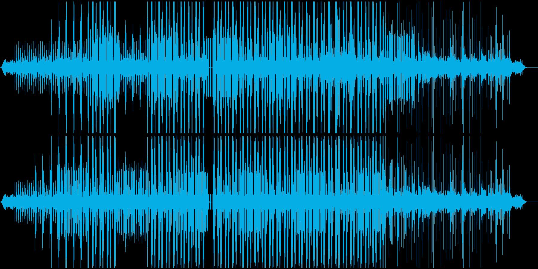 カリンバ音を使用した不思議なイメージの再生済みの波形