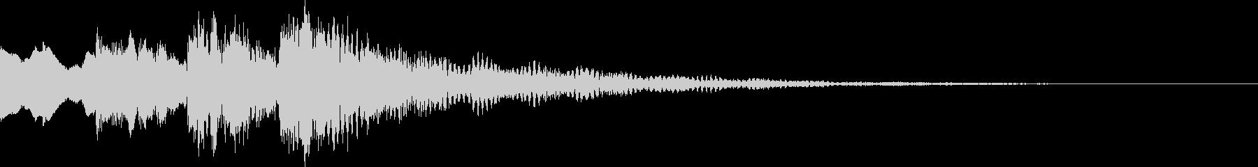 決定音/ボタン音/選択音/正解音 14の未再生の波形