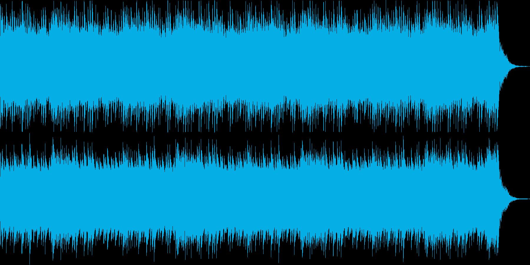 ホラー/ミステリー系 不気味なピアノ曲の再生済みの波形