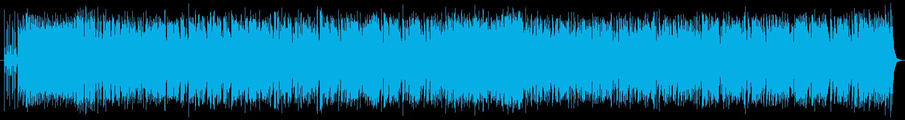 オー・ソレ・ミオのボサノババージョンの再生済みの波形