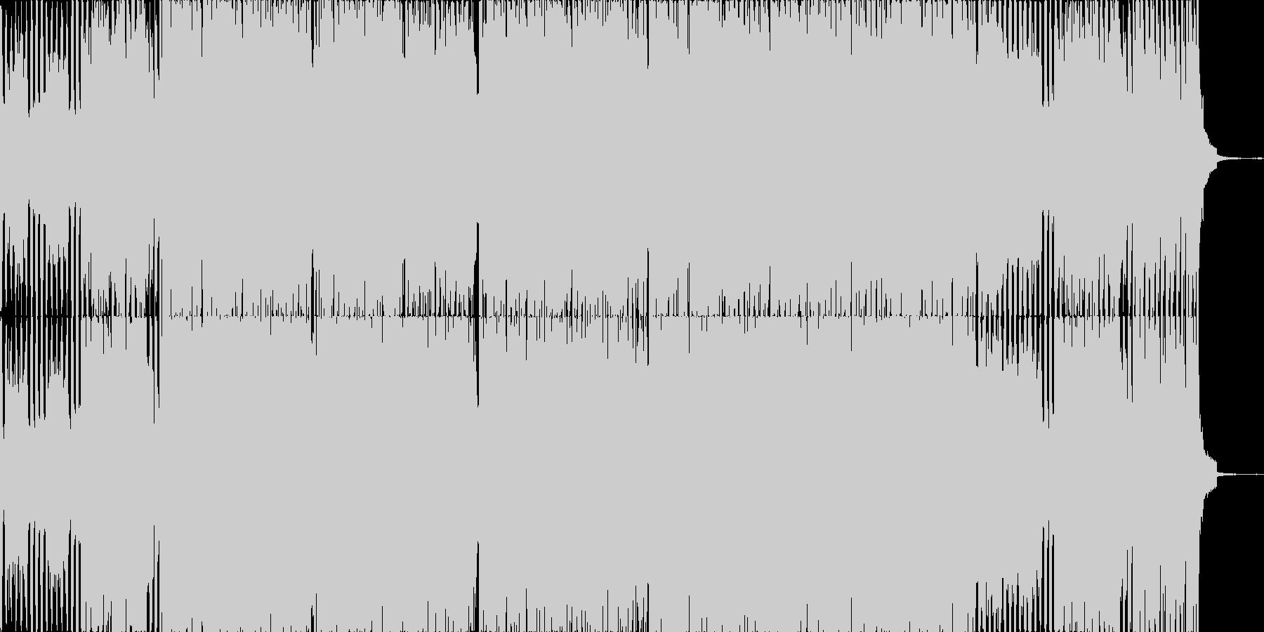 約1分半のスペース系トランスオリジナルの未再生の波形