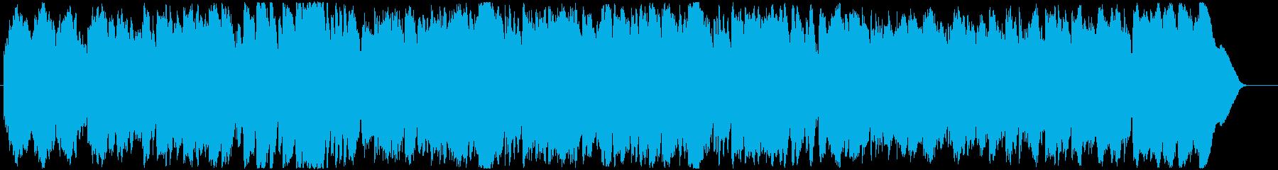 明るく軽快で爽やかな3拍子BGMの再生済みの波形