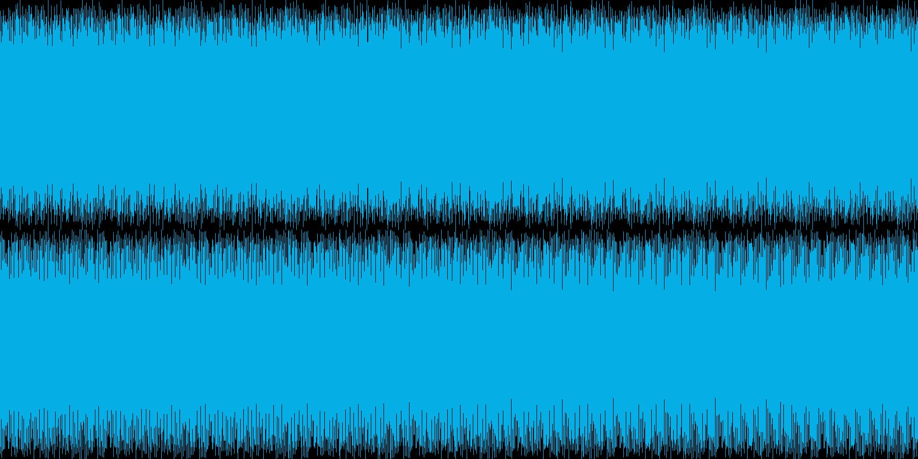 ウワウワの再生済みの波形