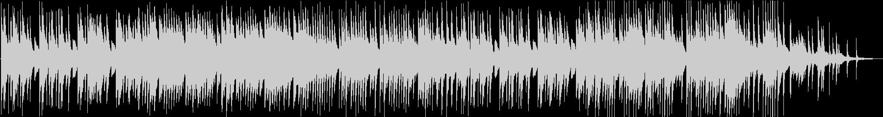 和を感じさせるピアノソロBGMの未再生の波形