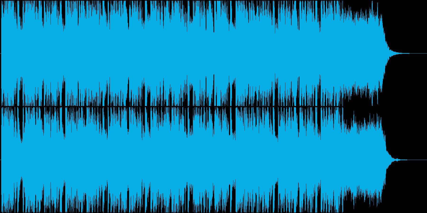 宇宙感、浮遊感のあるエレクトロニカの再生済みの波形