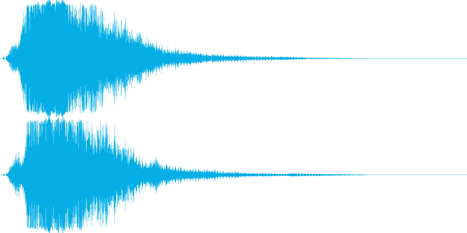 シャキーン!ド派手なインパクトに最適19の再生済みの波形