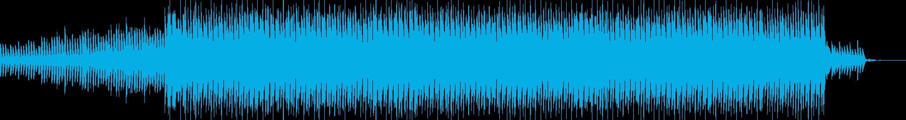 キラキラ系のモノ作りサウンド企業CMの再生済みの波形