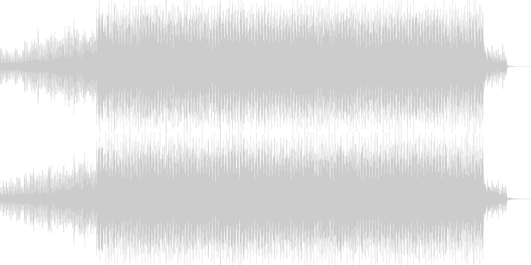 キラキラ系のモノ作りサウンド企業CMの未再生の波形