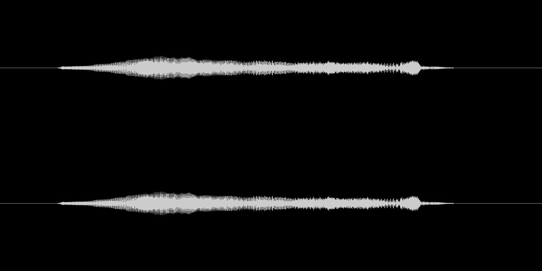 ニャー_猫声-14の未再生の波形