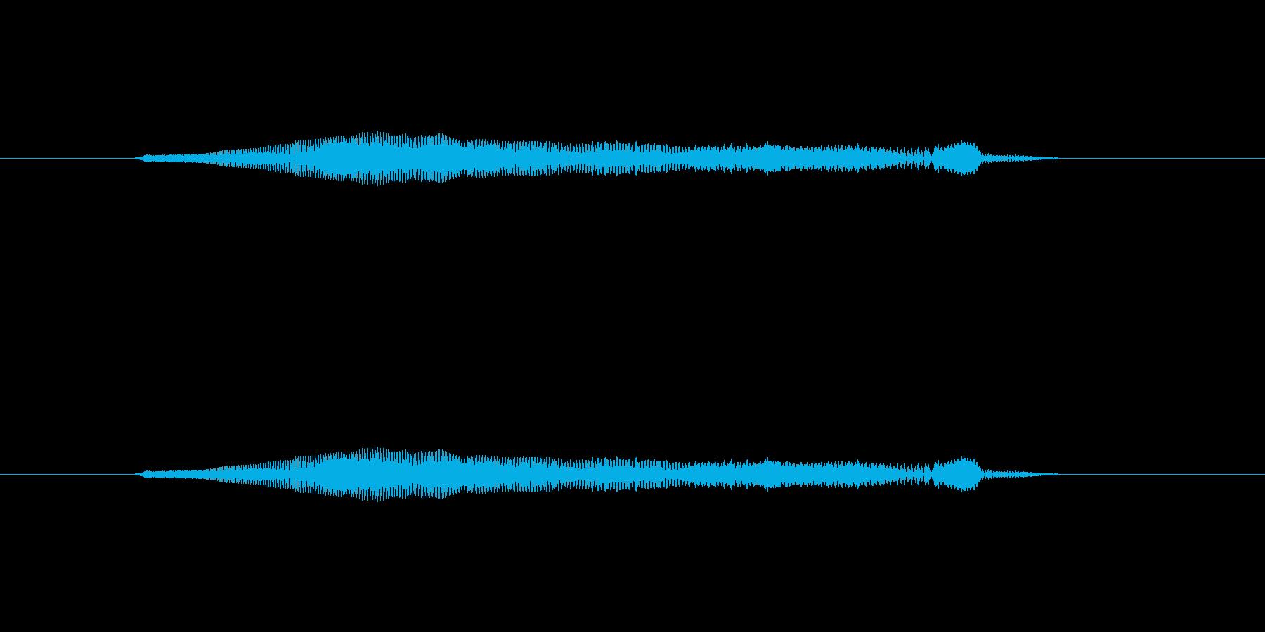 ニャー_猫声-14の再生済みの波形