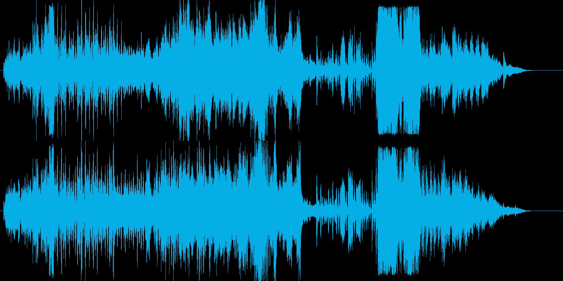 ファンファーレから始まる壮大なオーケス…の再生済みの波形