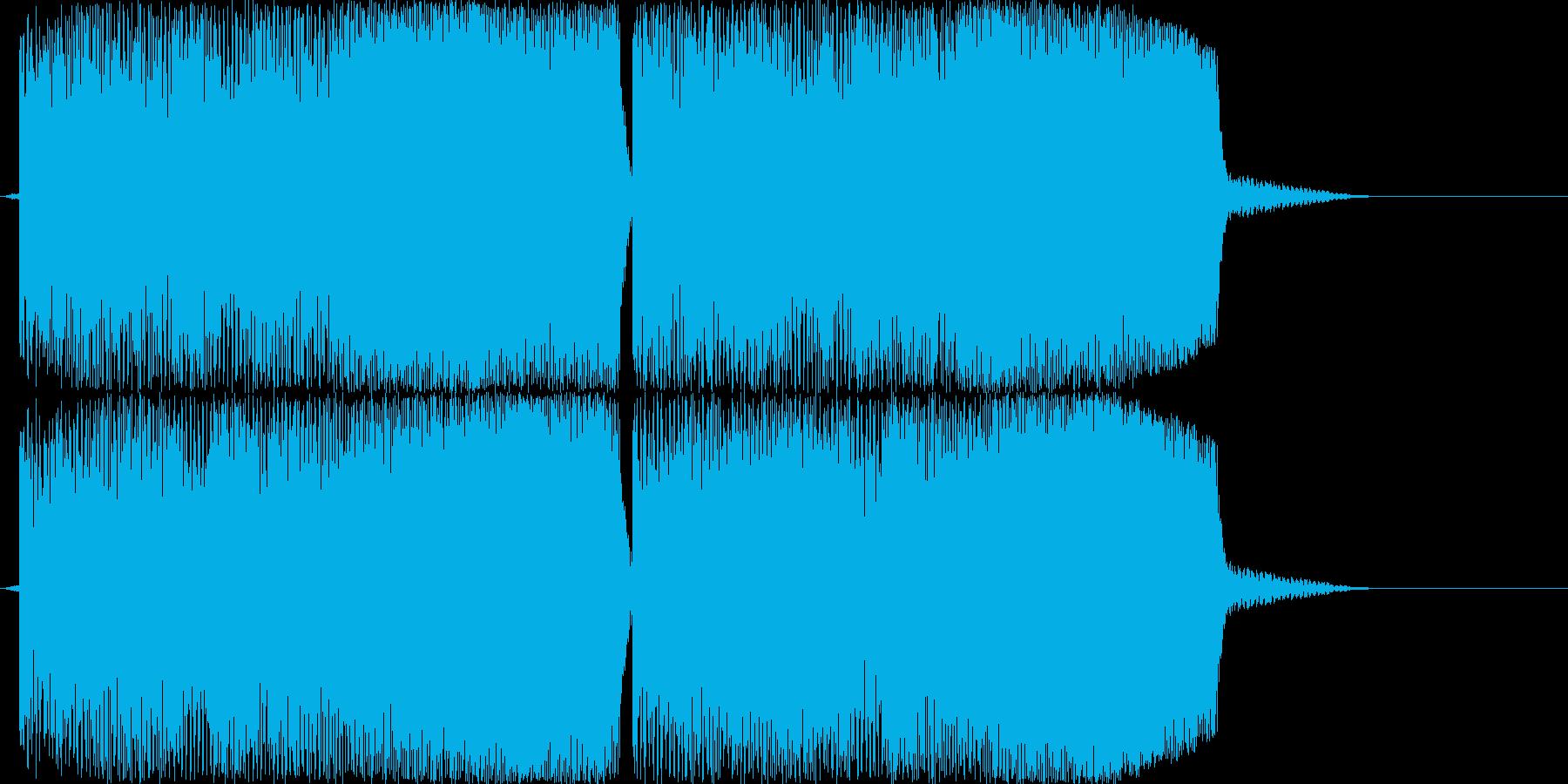 ブービーブービーブービー!(警告音)の再生済みの波形
