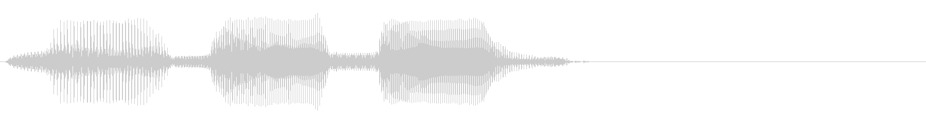 70,000の未再生の波形