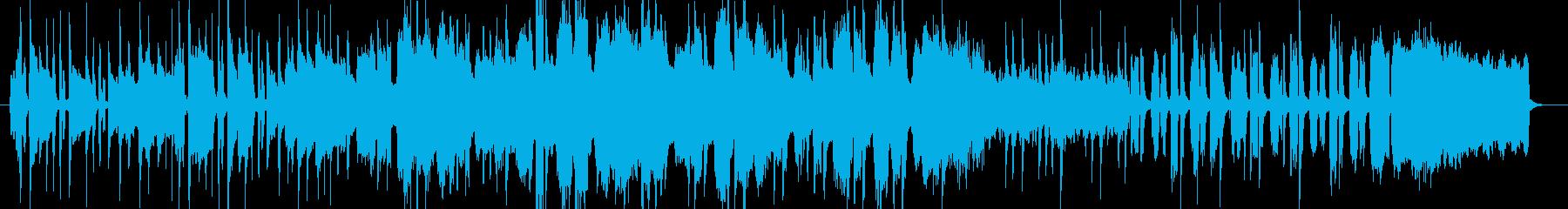 アコーディオンを使った情熱的なBGMの再生済みの波形