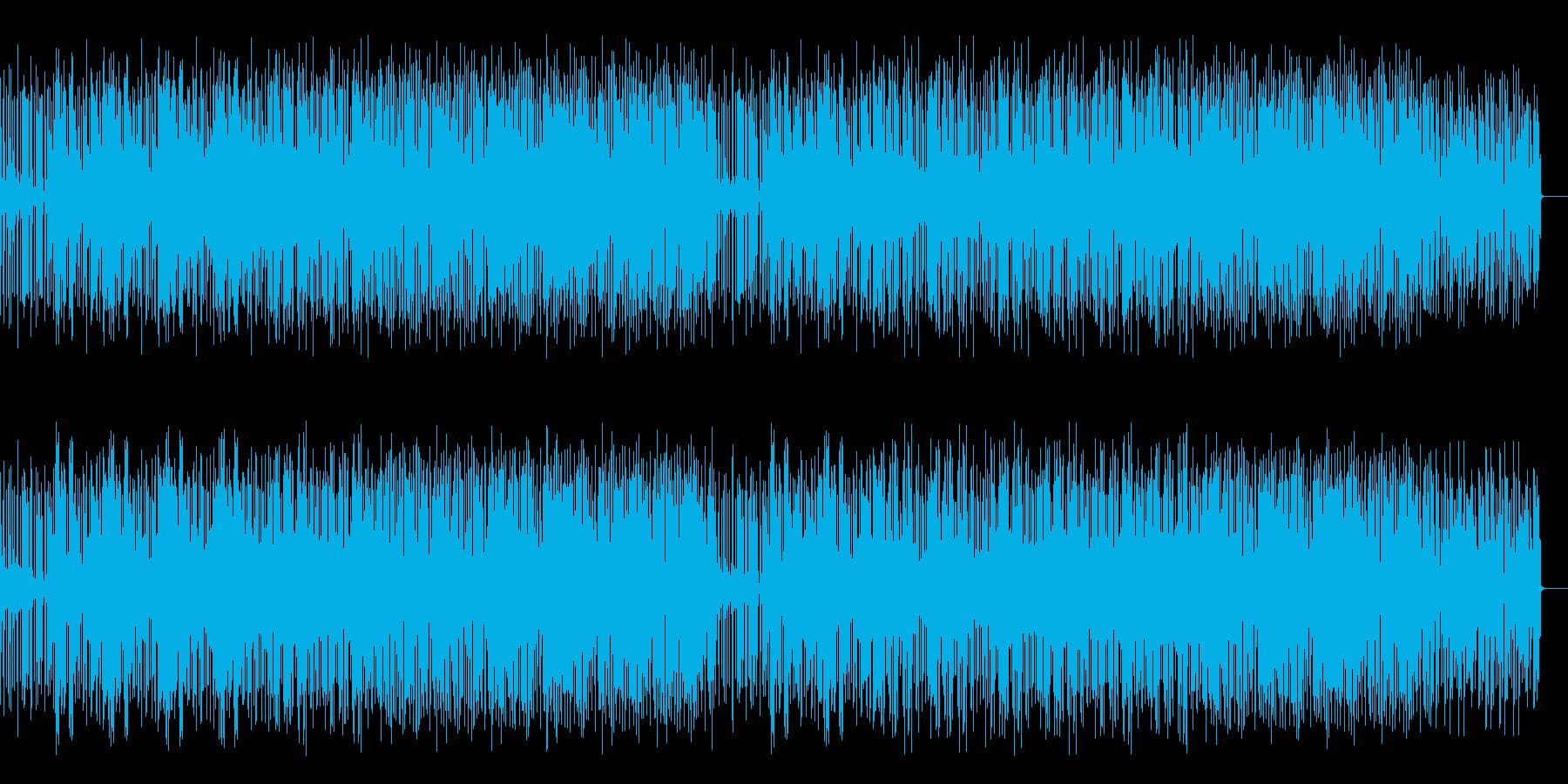 Jazzyでファンキーなヒップホップの再生済みの波形