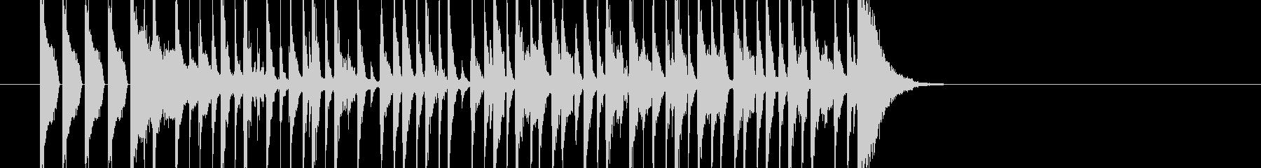 クイズ 出題の未再生の波形