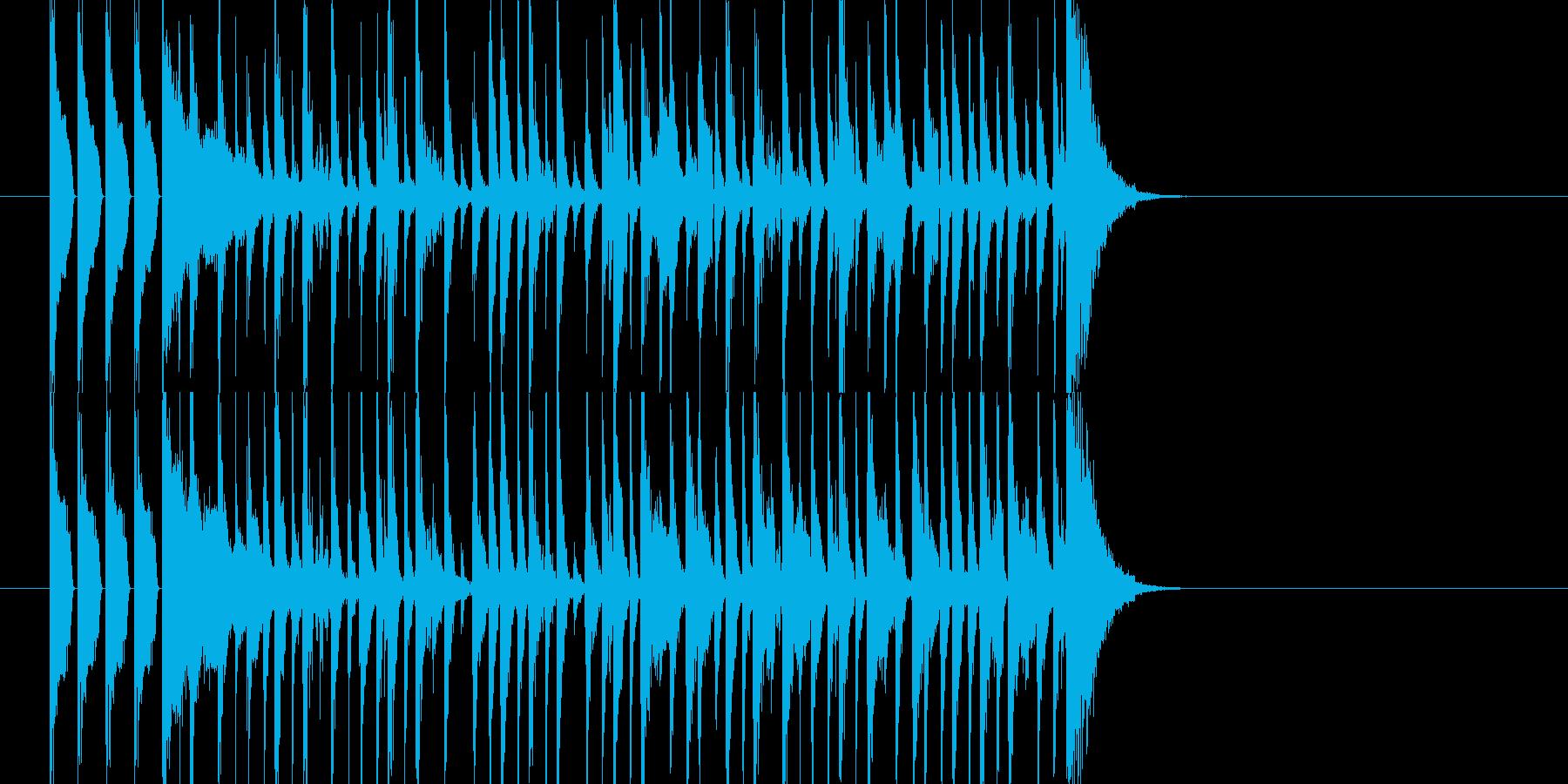 クイズ 出題の再生済みの波形