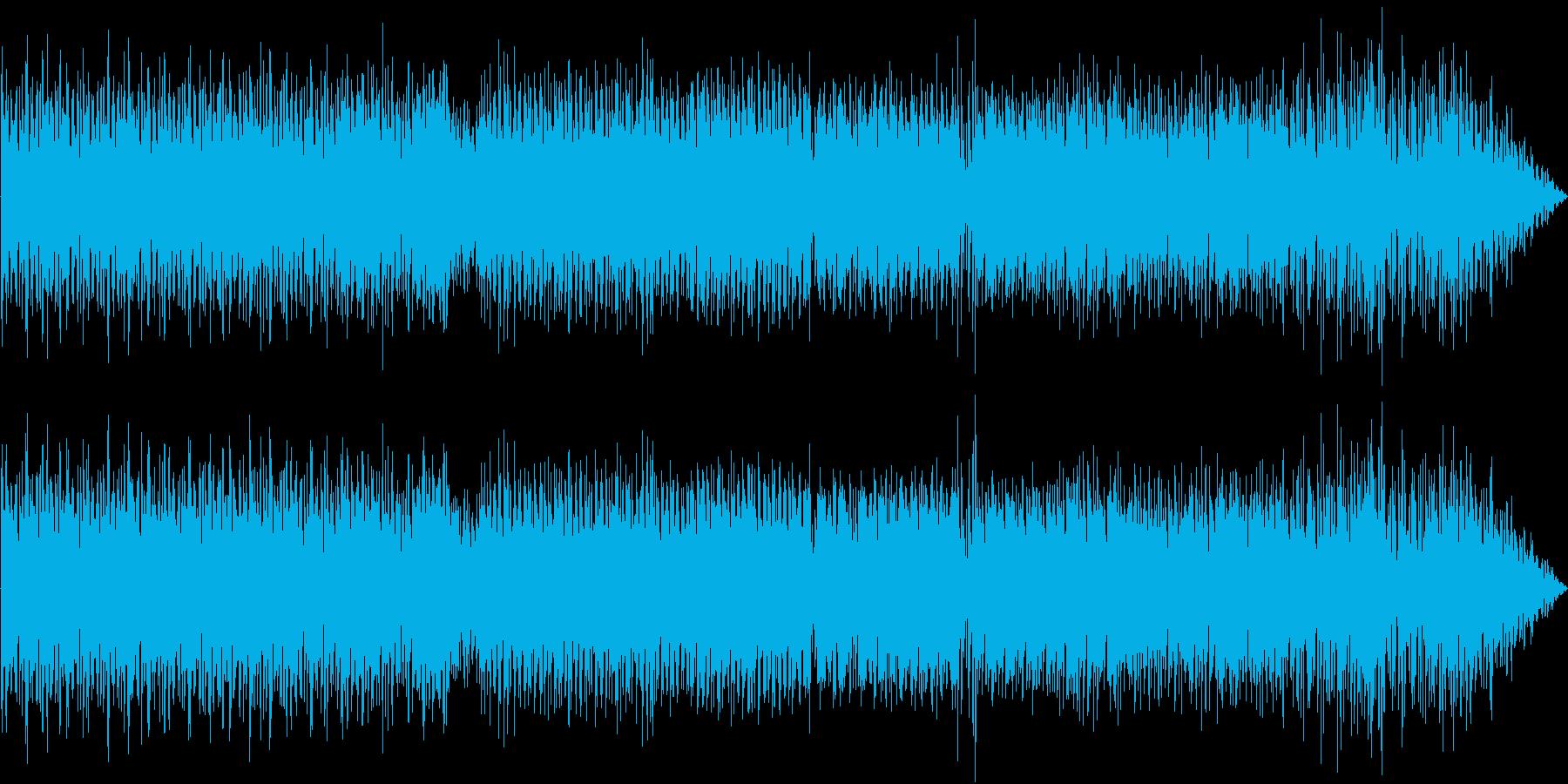 南国風の軽快な音楽ですの再生済みの波形