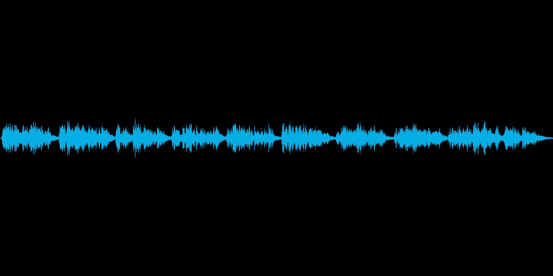 (「通りゃんせ」)の再生済みの波形