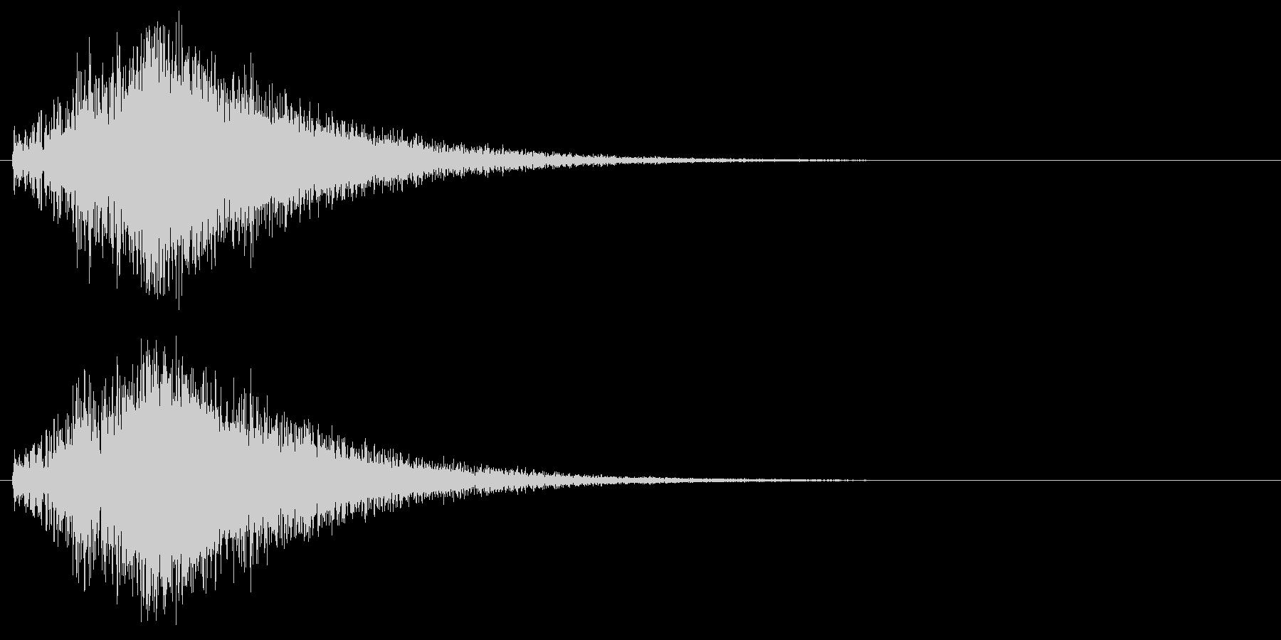 発散系サウンドの未再生の波形