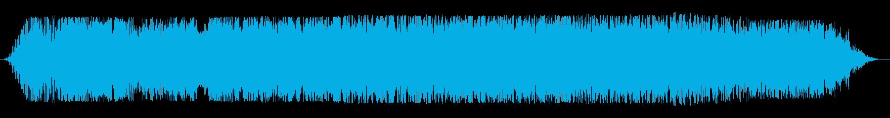 宇宙船通過(上り調子・音色3種)の再生済みの波形
