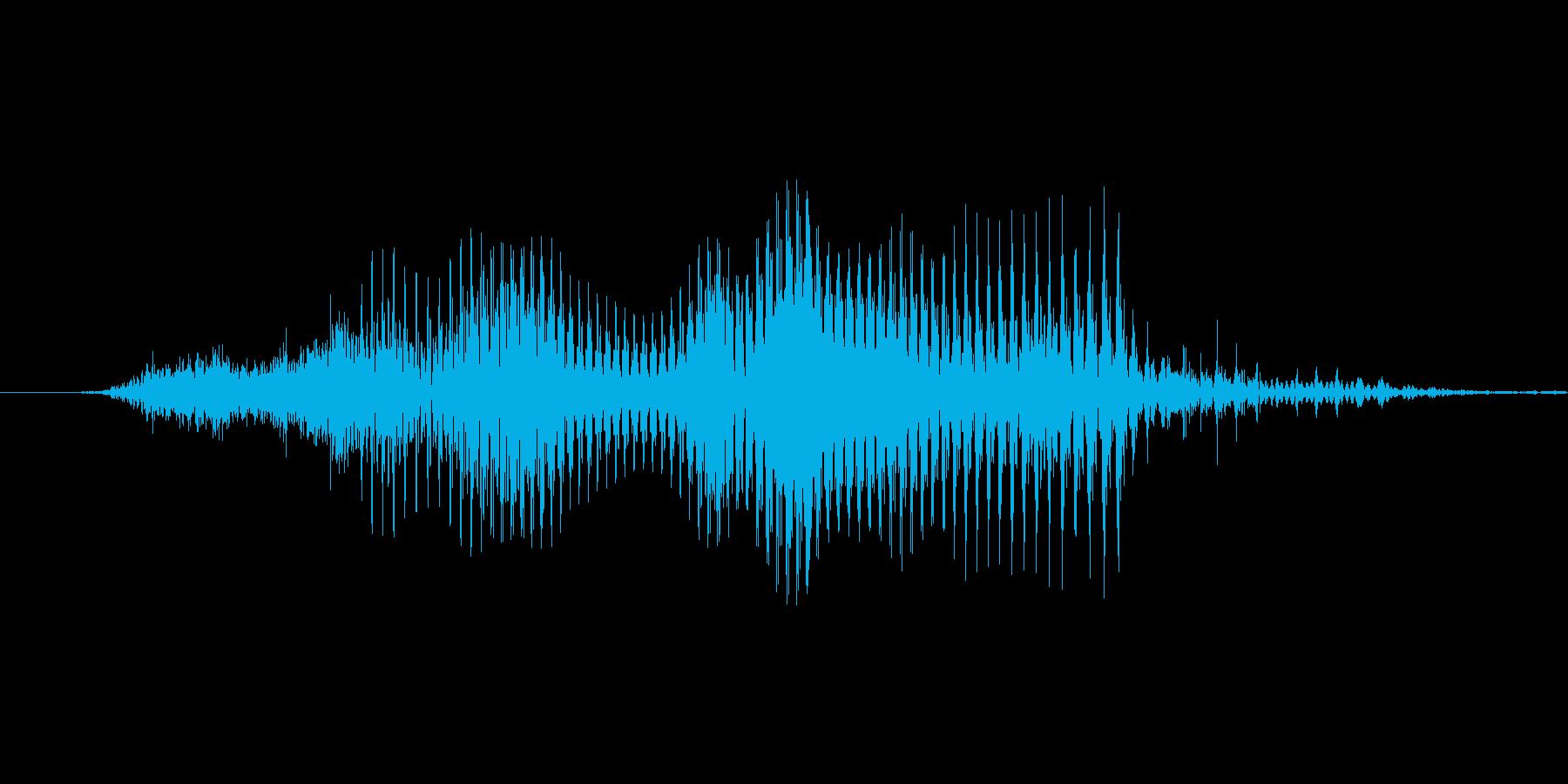 「3 AM」英語発音の再生済みの波形