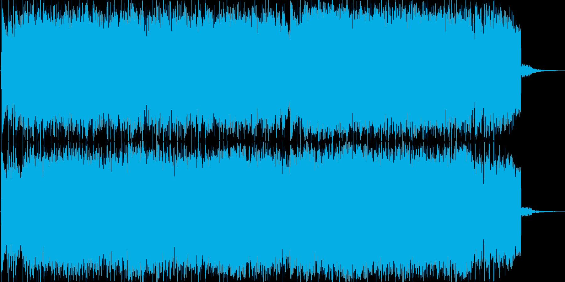 和風・中華風バトルBGM。タイトルにもの再生済みの波形