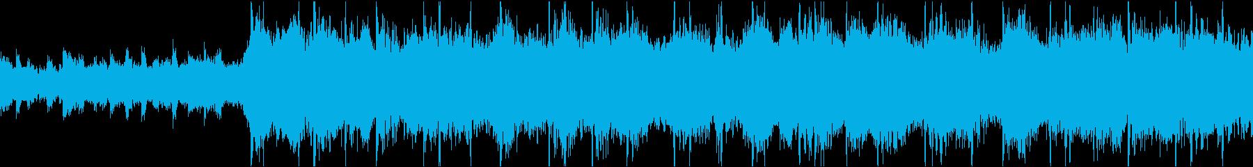 【ループ】綺麗なメロディのミディアム曲の再生済みの波形