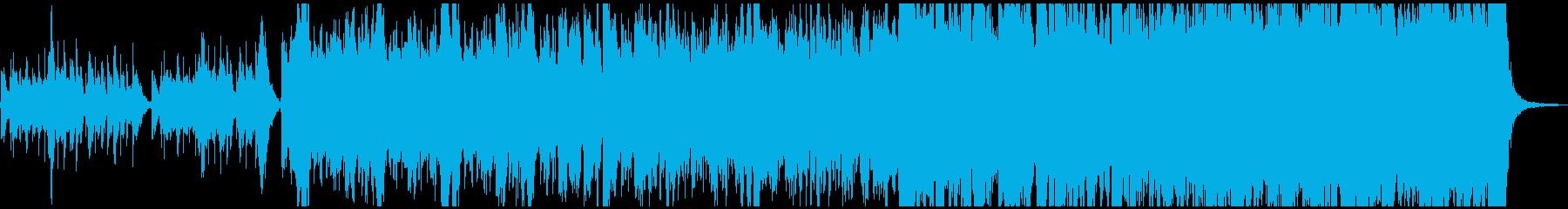 年末イベント向けファンタジーBGMの再生済みの波形