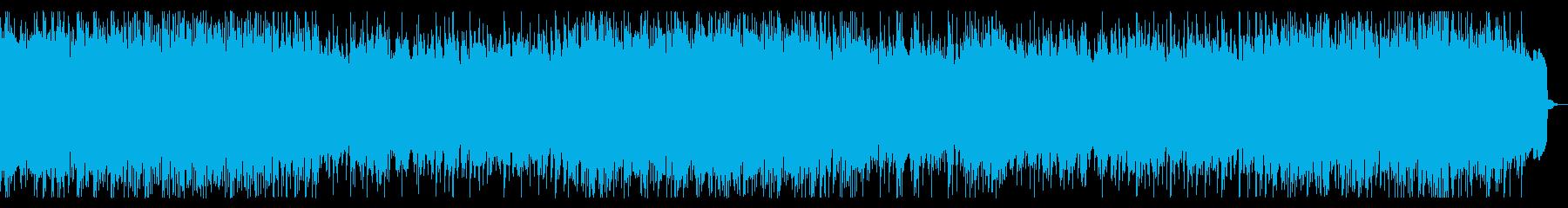メタル戦闘曲 リフ、バッキング主体の再生済みの波形