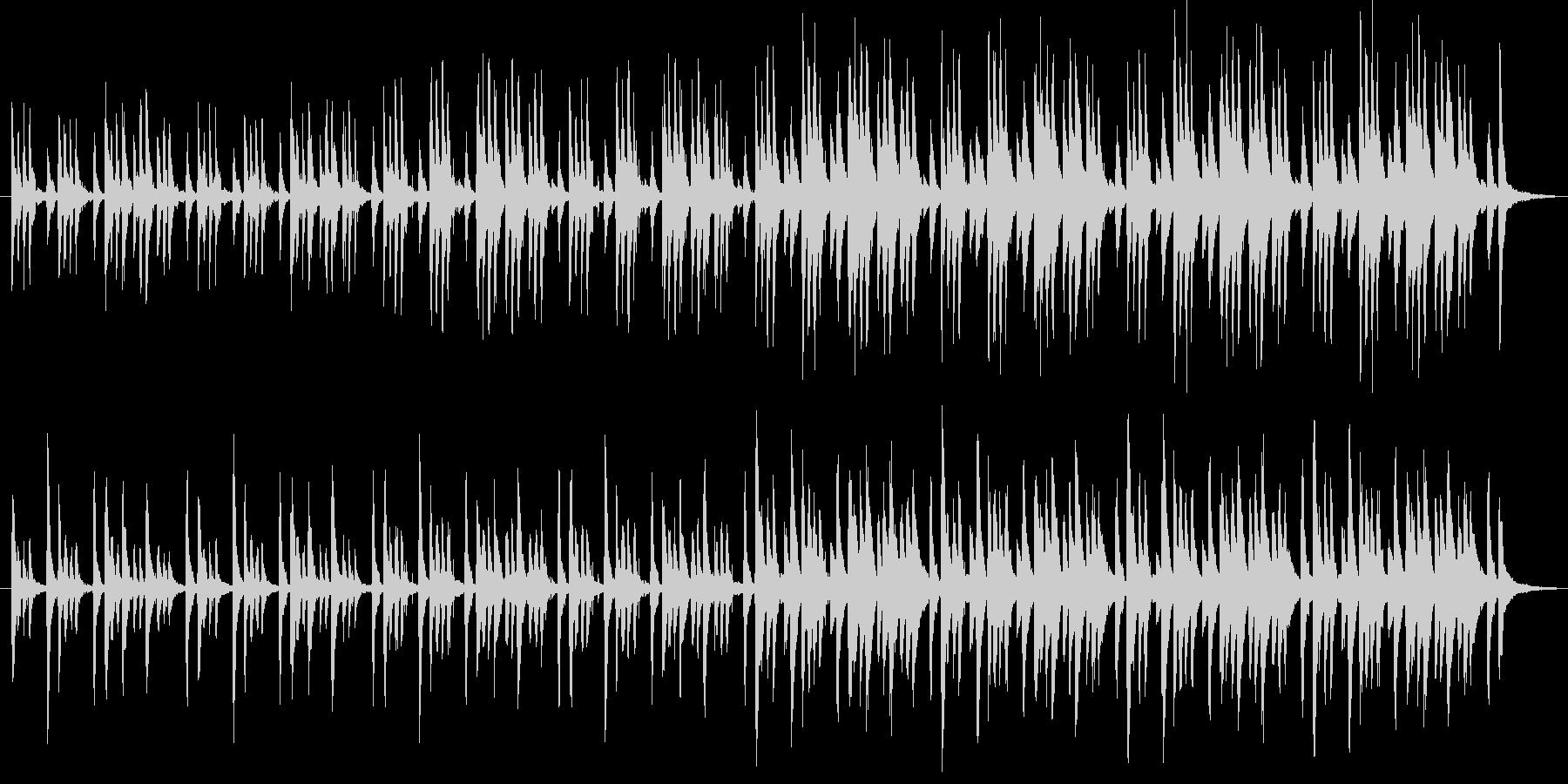 【POP ほのぼの系】ほのぼの系音楽の未再生の波形