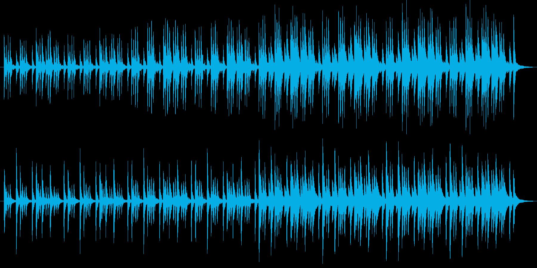【POP ほのぼの系】ほのぼの系音楽の再生済みの波形