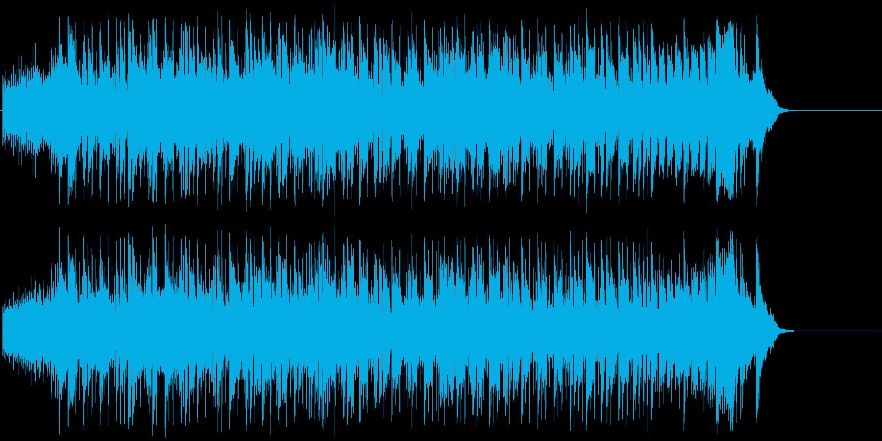 さわやか 青空 ほのぼの 希望 充実の再生済みの波形