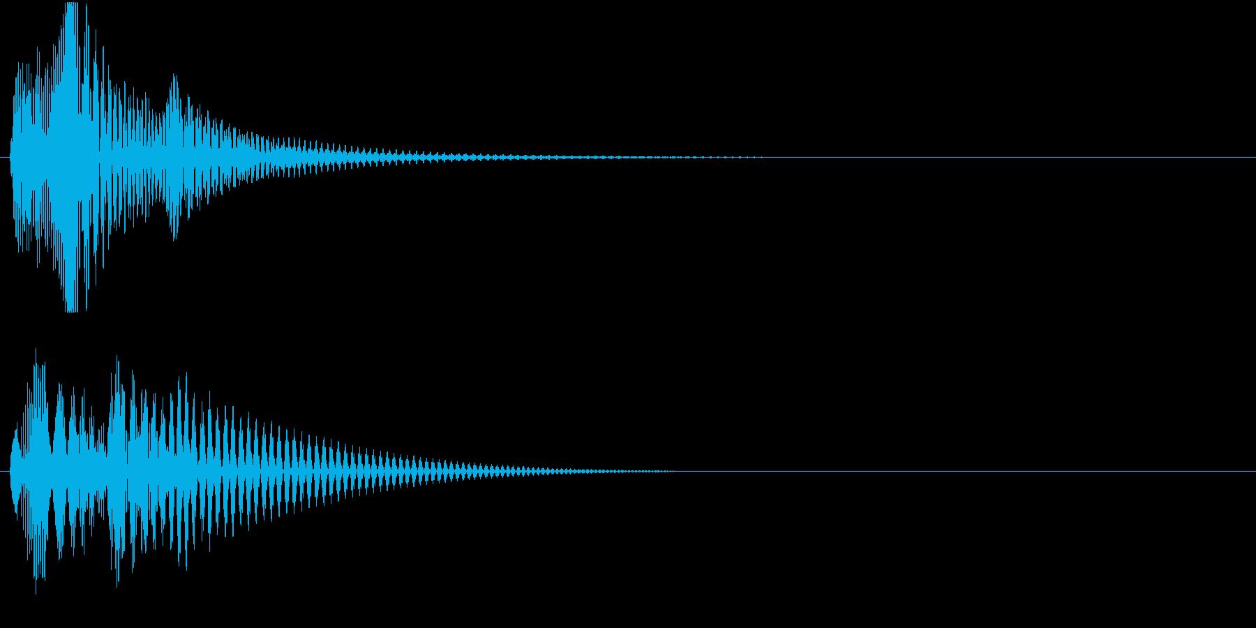 Baby 幼児玩具向け可愛い電子音1の再生済みの波形