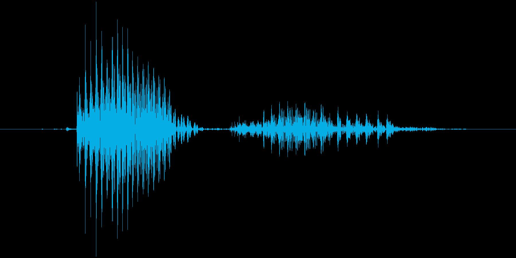 「April」英語発音の再生済みの波形