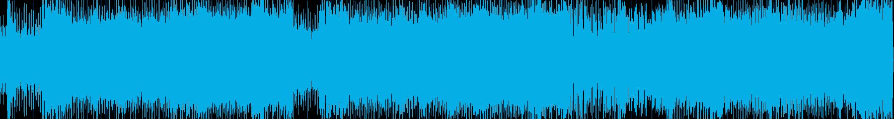 ロック企業PVゲーム系BGMループの再生済みの波形