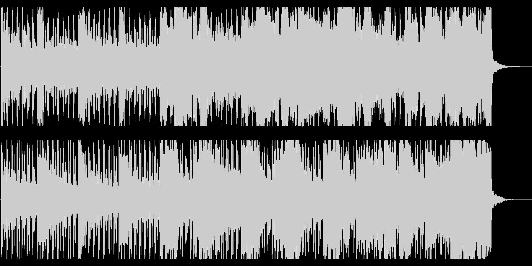森の奥深くをイメージした幻想的BGMの未再生の波形